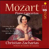 Mozart: Piano Concertos, Vol. 8: Nos. 24 & 25 / Christian Zacharias, piano