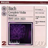 Bach: Complete Violin Sonatas / Grimiaux, Jaccottet, Mermoud