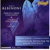 Albinoni: Double Oboe & String Concertos Vol 1 / Standage