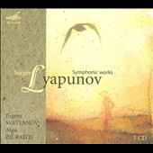 Sergey Lyapunov: Symphonic Works - Symphonies 1&2; Triumphal Overture, Op. 7; Polonaise, Op. 16; Hashish, Op. 53 et al. / Svetlanov