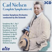 Carl Nielsen: Complete Symphonies 1-6 / Ole Schmidt, London SO