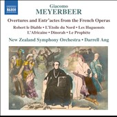 Meyerbeer: Overtures and Entr'actes from the French Operas / New Zealand SO, Darrell Ang