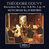 Gouvy: Piano Trios no 2 & 3 / Munich Piano Trio