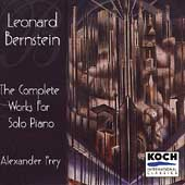 Bernstein: Complete Works for Solo Piano / Alexander Frey