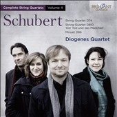 Schubert: Complete String Quartets, Vol. 4 - Quartets D74 & D810