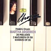Chopin: 26 Pr&#233;ludes, etc / Marth Argerich