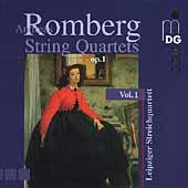 A. Romberg: String Quartets Vol 1 / Leipzig Quartet