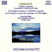 Sibelius: Violin Concerto;  Svendsen, et al / Kang, Leaper