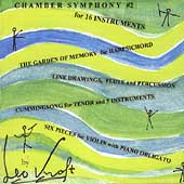 Kraft: Chamber Symphony no 2, etc / Rothman, Hostetter, etc