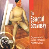 The Essential Stravinsky / J&auml;rvi, Suisse Romande Orchestra