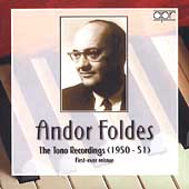 Andor Foldes - The Tono Recordings (1950-51)