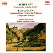 Schubert: Arpegione Sonata;  Schumann / Kliegel, Merscher