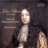 Blow: Music for Harpsichord & Spinet / Robert Woolley