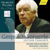 Lecture Concerts - Bach: Cantatas / Helmuth Rilling, et al