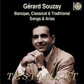 Gérard Souzay Sings Baroque, Classical & Traditional Songs