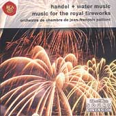 Handel: Water Music, Royal Fireworks Music / Paillard CO