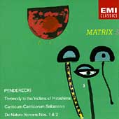 Matrix 5 - Penderecki: Anaklasis, Threnody, etc / Penderecki
