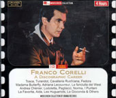 Franco Corelli: A Discographic Career - Arias & Songs / Franco Corelli, tenor