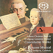 Mozart: Piano Concertos;  J.C. Bach / Le Parnasse Musical