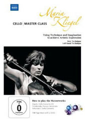 Cello Master Class with Maria Kliegel [2 DVD]