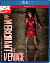 William Shakespeare: The Merchant of Venice, directed by Polly Findlay / Nadia Albina, Jamie Ballard, Scarlett Brookes, James Corrigan,  Makram Khoury, Owen Findlay [Blu-ray]