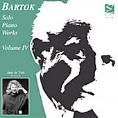 Bartok Solo Piano Works Volume 4 / June De Toth, Piano