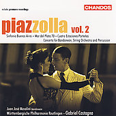 Piazzolla: Symphonic Works Vol 2 / Castagna, et al