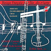 French Music for Flute, Cello & Harp / Daboncourt, et al