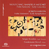 Mozart: Eartly Concertos;  Haydn: Early Symphonies