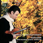 Glazunov, Tchaikovsky: Violin Concertos / Gluzman, et al