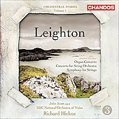 Leighton - Orchestral Works Vol 1 / Hickox, Scott, BBC National Orchestra of Wales