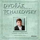 Dvorak, Tchaikovsky: Songs / Chaiter, Zelikson