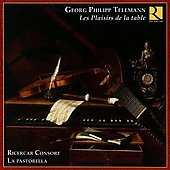Les Plaisirs de la Table - Telemann, Vivaldi, Graun, Quantz, etc / Ricercar Consort, et al