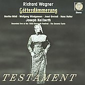 Wagner: G&ouml;tterd&auml;mmerung / Keilberth, M&ouml;dl, Windgassen, Greindl, Hotter, et al