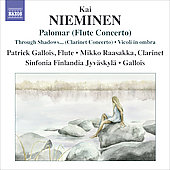 Nieminen: Palomar, Through shadows I can hear ancient voices, etc / Gallois, Raasakka, et al