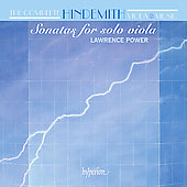 The Complete Hindemith Viola Music Vol. 2: Sonatas for Solo Viola
