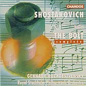 Shostakovich: The Bolt / Rozhdestvensky, Royal Stockholm PO