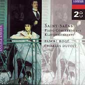 Saint-Sa&#235;ns: Piano Concertos 1-5 / Rog&#233;, Dutoit