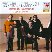 Brahms: Piano Quartets, Opp. 25, 26 & 60 / Ax, Stern, Laredo, Ma