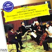 Brahms: Piano Quartet, Ballades / Gilels, Amadeus Quartet