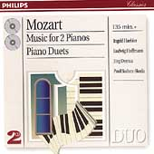 Mozart: Music for 2 Pianos, Piano Duets / Haebler, Hoffmann
