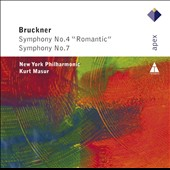 Bruckner: Symphonies Nos. 4 & 7 / Kurt Masur, New York PO