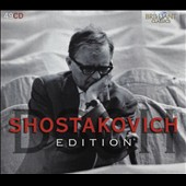 Shostakovich Edition - Symphonies, concertos, chamber music, piano pieces, choral works, songs, film scores, operas [49 CDs]