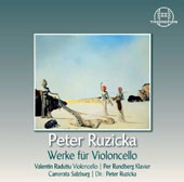 Peter Ruzicka (b.1948): works for cello / Valentin Radutiu, cello; Per Rundberg, piano