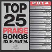 Various Artists: Top 25 Praise Songs Instrumental 2014
