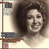 Beverly Sills - Plaisir d'amour / Columbia SO, NYPO, et al