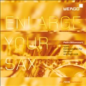 Enlarge Your Sax: Music for Saxophone & Electronics / J. Sanchez, Pedro Bittencourt