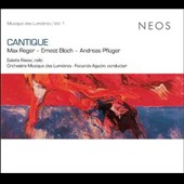 Cantique: Max Reger, Ernest Bloch, Andreas Pflüger