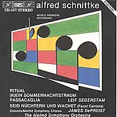 Schnittke: Cello Concerto, etc / Thedeen, Segerstam