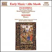 Early Music - Palestrina: Choral Works / Oxford Camarata